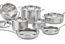 Cookware Review: Cuisinart MultiClad Pro Stainless Steel Cookware Set