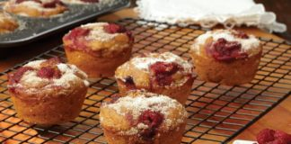 Recipe: Anytime Pumpkin-Raspberry Muffins