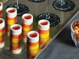 Candy Corn Party Drinks