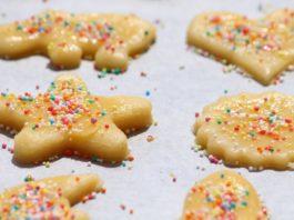 Painted Christmas Sugar Cookies