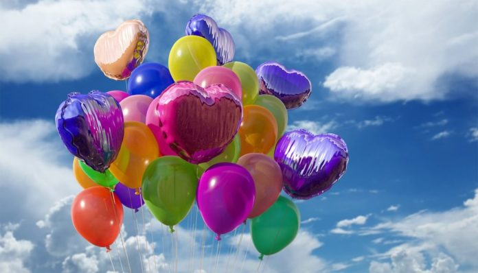 Colored Ballons for Everyday Celebrations