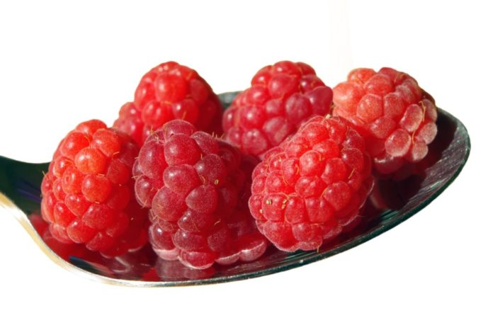Fresh Raspberries Delight Your Mouth with Rich Nature Flavor