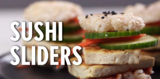 Recipe: How-to Make Sushi Sliders