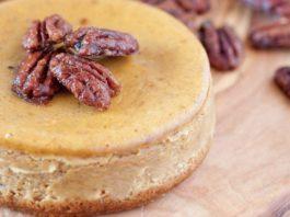 Recipe: Low Carb Pumpkin Pecan Cheesecake - Family Life Tips Magazine