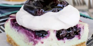 Blueberry Key Lime Cheesecake Bars - Family Life Tips Magazine
