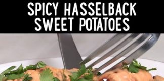 How-to Make Spicy Hasselback Sweet Potatoes