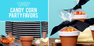 DIY: Candy Corn Party Favors