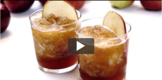 Recipe: Boozy Apple Cider Slushie