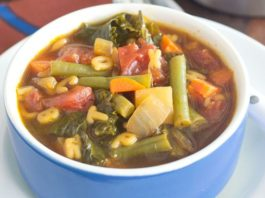 Alphabet Vegetable Soup Recipe