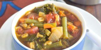 Alphabet Vegetable Soup Recipe