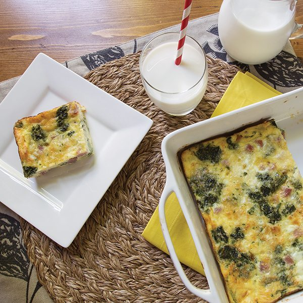 Easy Egg Casserole Recipe from Family Life Tips Magazine