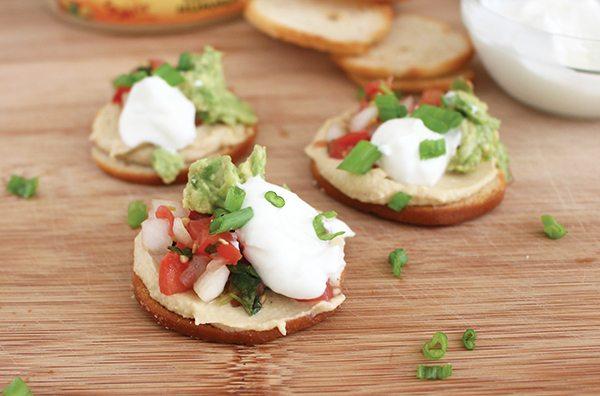 Recipe: Southwestern Hummus Bites