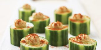 Recipe: Cucumber Cups