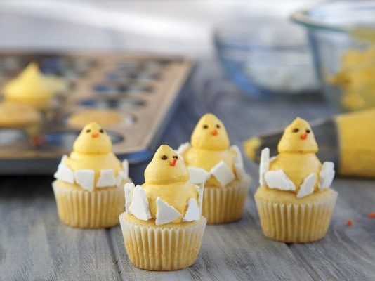 Recipe: Baby Chick Cupcakes