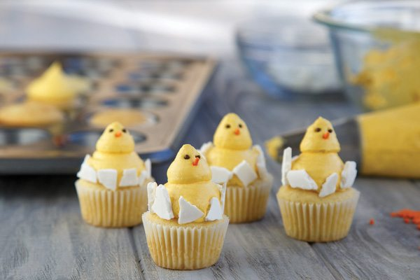 Recipe: Baby Chick Cupcakes