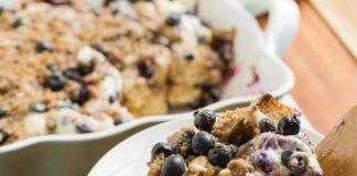 Recipe: Overnight Lemon Blueberry Muffin Casserole