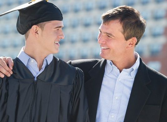 Honor Dads and Cheer Grads