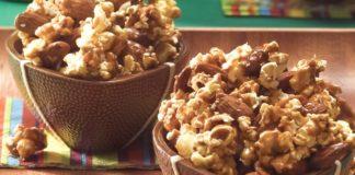 Caramel-Nut Popcorn Crunch