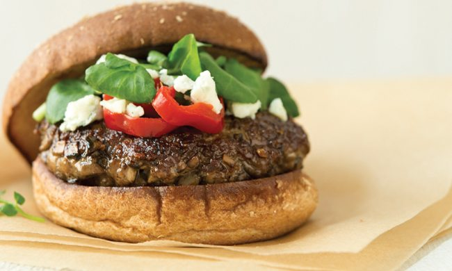 Mighty Mushroom Blended Burger Recipe