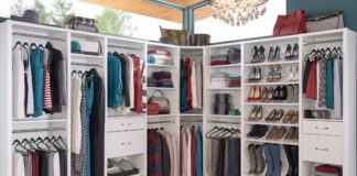 Having a disorganized closet is a problem for at least one in four women