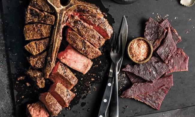 Beef on Steak Salt