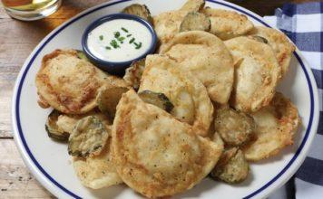 Chicken-Fried Pierogies Recipe