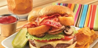 Six-Mile High Burger Recipe