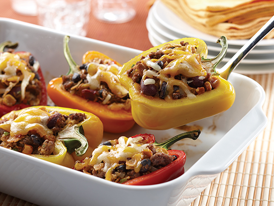 Recipe: Southwestern Bean Salad Stuffed Peppers | Family Life Tips