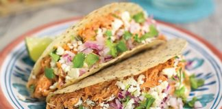 "Slow Cooked ""Pulled"" Chicken Tacos - Family Life Tips Magazine"