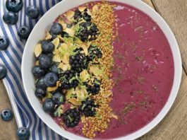 Blackberry Avocado Smoothie Bowl - Family Life Tips Magazine