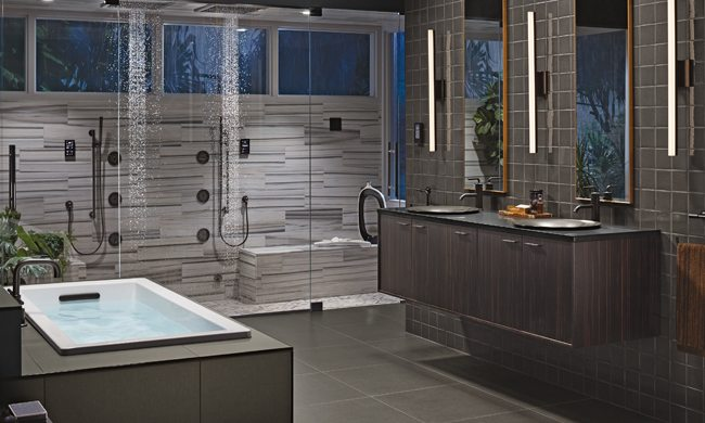 Bathroom features that take smart living to a whole new level