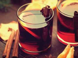 Festive Holiday Drink Recipes - Cinnamon Mulled Sangria