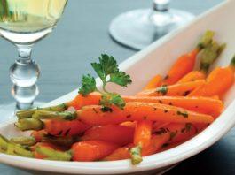 White Wine Glazed Carrots