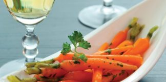 White Wine Glazed Carrots