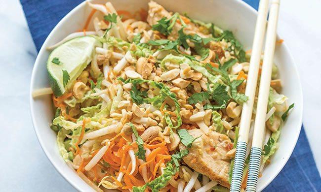 Chicken Pad Thai Recipe   Family Life Tips