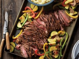 Grilled Southwestern Steak and Colorful Vegetables | Family Life Tips Magazine