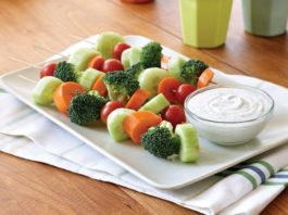 Portable Veggie Kabobs with Tangy Veggie Dip | Family Life Tips Magazine