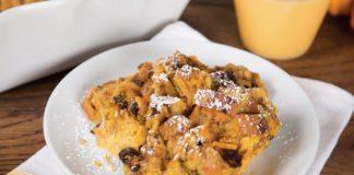 Orange Custard Bread Pudding Recipe | Family Life Tips Magazine