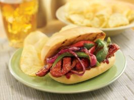 Grilled Sausage Skewer Sandwiches Recipe | Family Life Tips