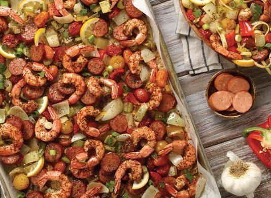 Spicy Sheet Pan Roasted Jambalaya Recipe   Family Life Tips