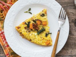 Butternut Squash Sage Frittata Recipe | Family Life Tips