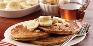 Maple Banana Bread Pancakes | Family Life Tips