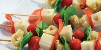 Antipasti Holiday Skewers Recipe | Family Life Tips Magazine