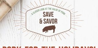 Savor holiday flavors and save money with pork.