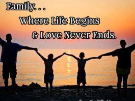 Family Where life begins meme | Family Life Tips