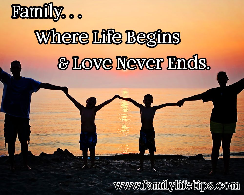 Family Where life begins meme | Family Life Tips
