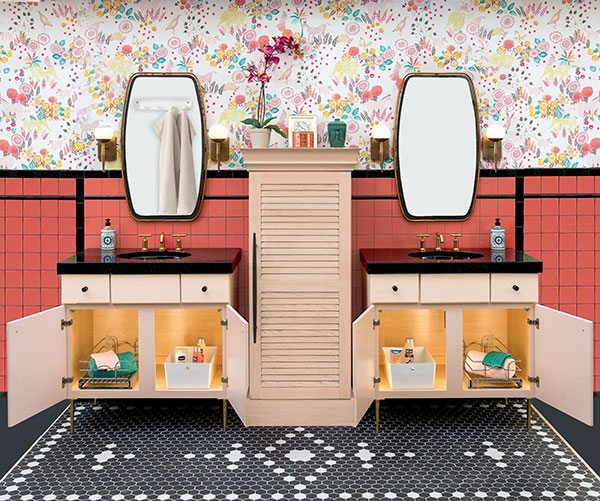 When it's time for a bathroom or kitchen upgrade, some of the greatest inspiration may come from another time entirely.