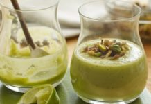 Smoky Avocado and Mushroom Drinkable Soup