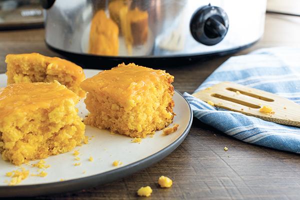 Recipe: Slow Cooker Cheesy Cornbread | Family Life Tips