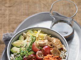 Grape Recipes: Vegetarian Poke Bowl